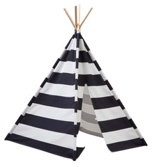 Mama + Max Kid's Concept Teepee Tent in Monochrome