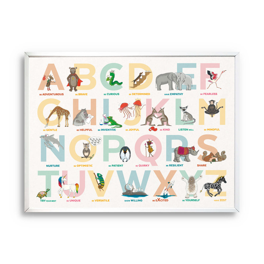Alphabet of Emotions Print (Landscape)
