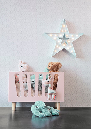 Dolls Bed in Powder Pink