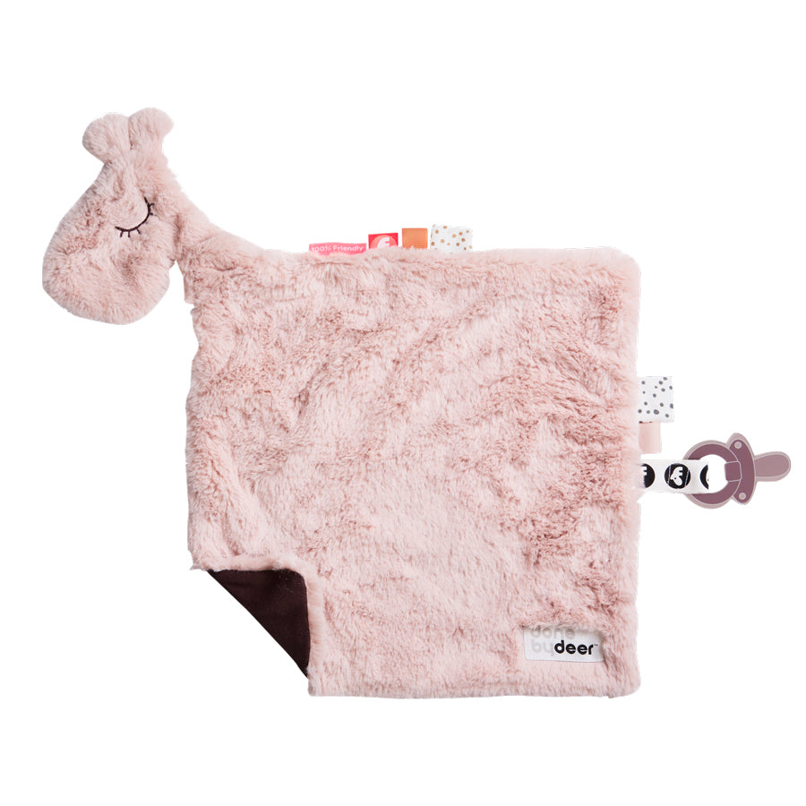 Raffi Comfort Blanket in Powder Pink