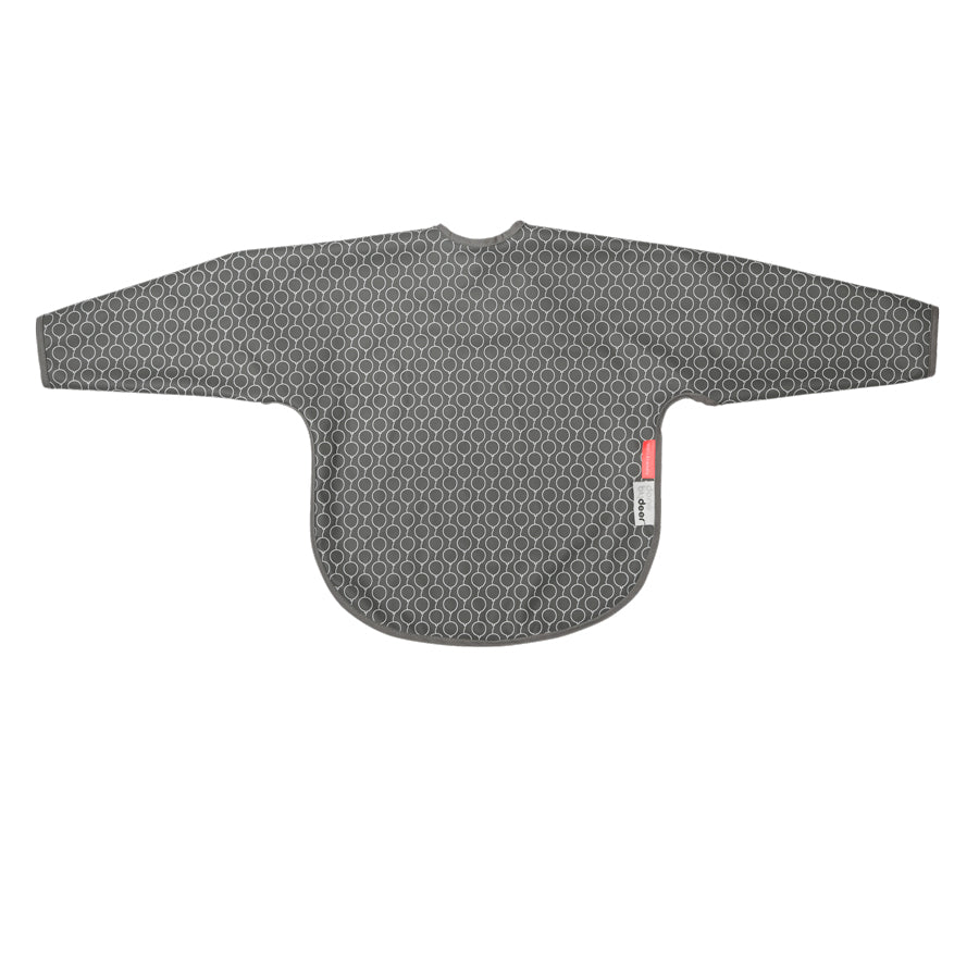 Sleeved Bib in Grey