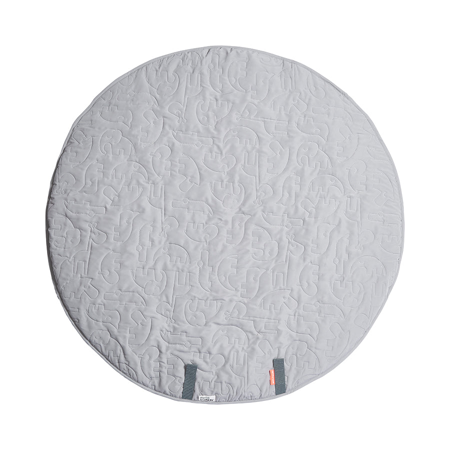 Round Play Mat in Grey