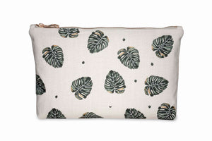Jungle Leaf Travel Pouch