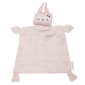 Animal Cuddle Bunny in Mauve