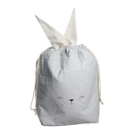Bunny Storage Bag in Ice Grey