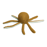 Ochre Soft Octopus Rattle