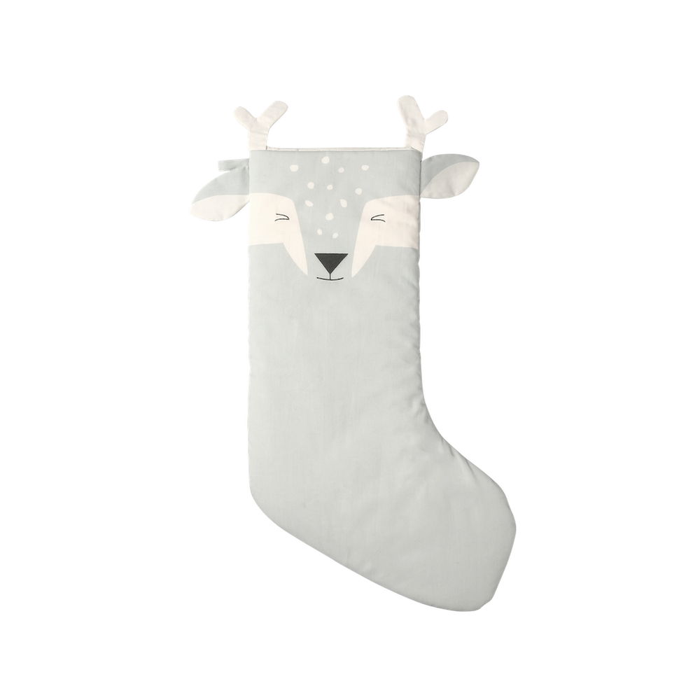 Animal Christmas Stocking - Shy Fawn