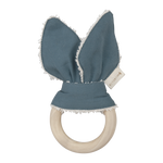 Animal Teether Whale in Blue Spruce