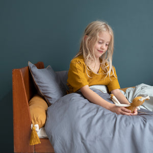 Sleep Bumper in Ochre