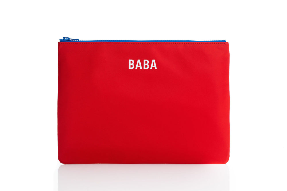 BABA Pouch in Red