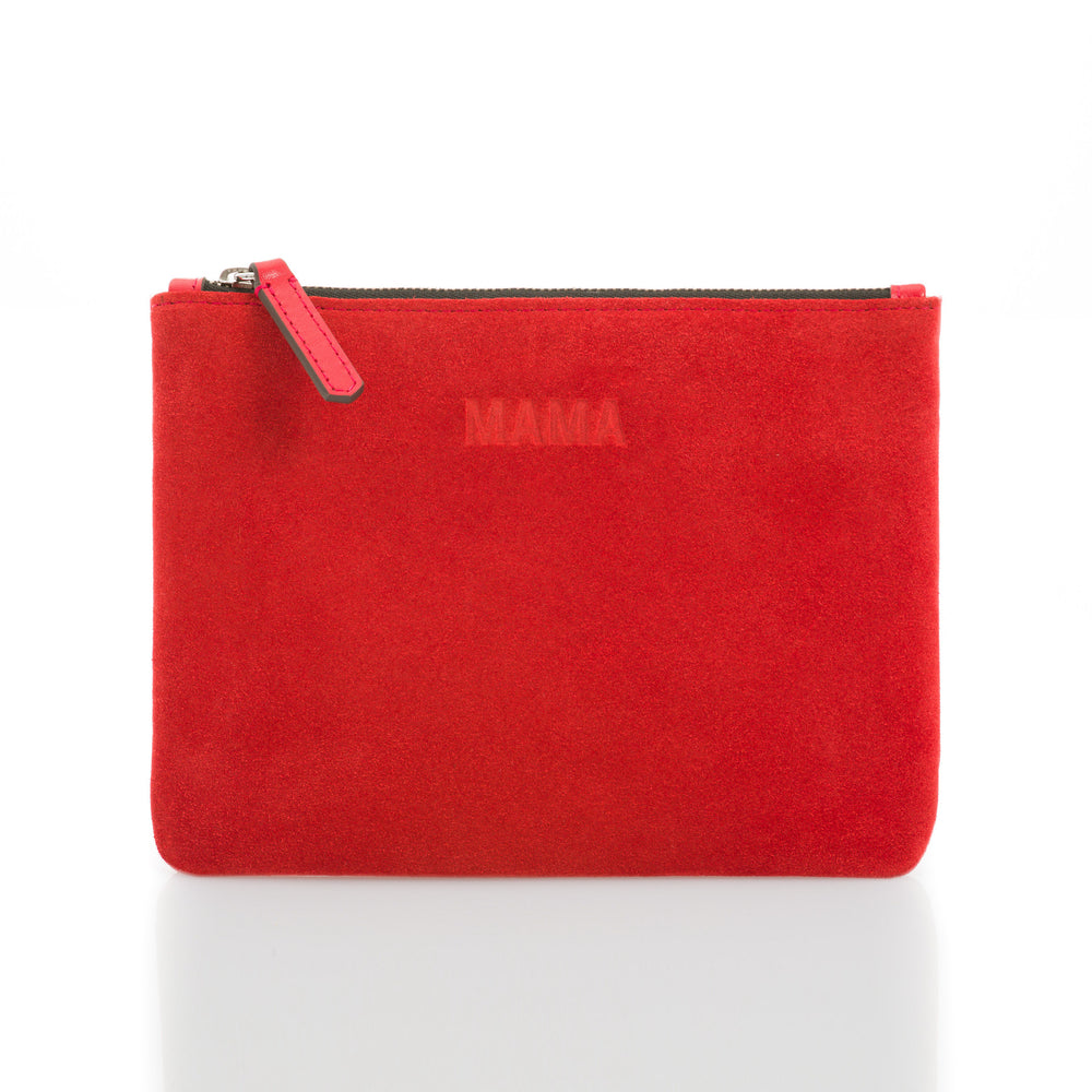 MAMA Clutch in Red