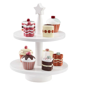 Kid's Bistro Wooden Cake Stand