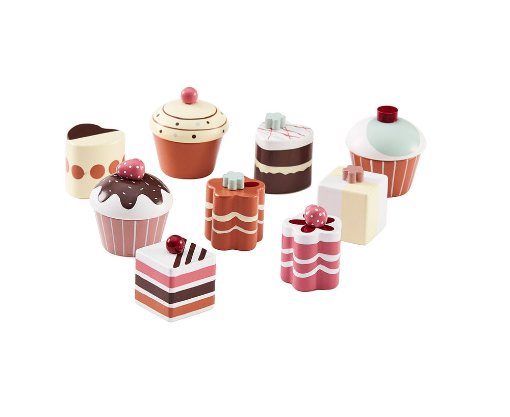 Kid's Concept Kid's Bistro Pastries 9 Piece Set