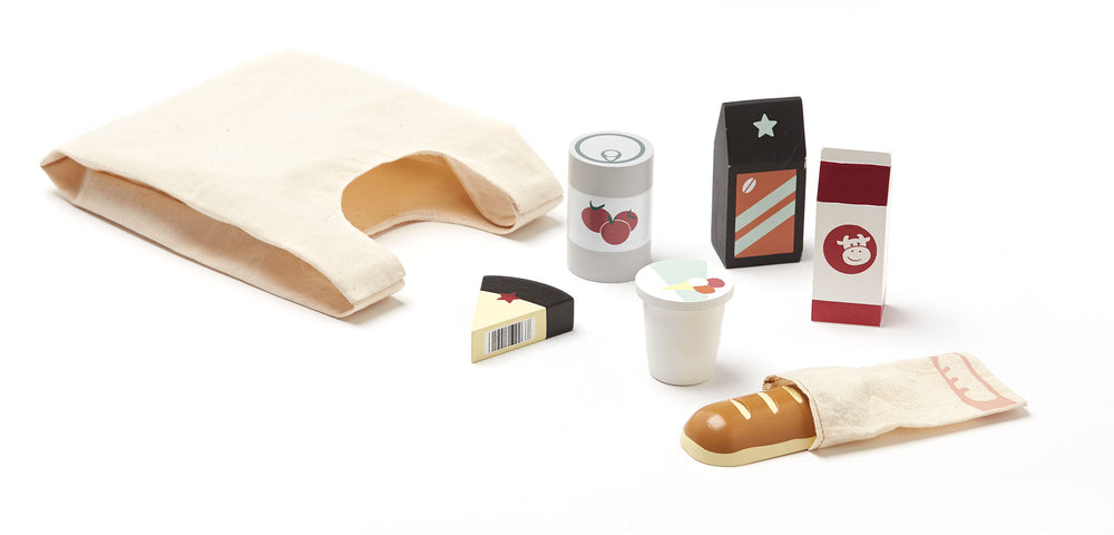 Wooden Grocery Set