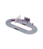 Kid's Concept Racing Car Set in Pink