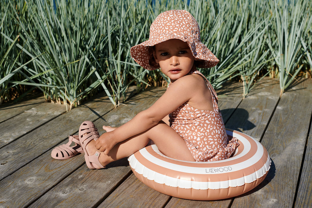 Amara Swimsuit - Leo Tuscany Rose
