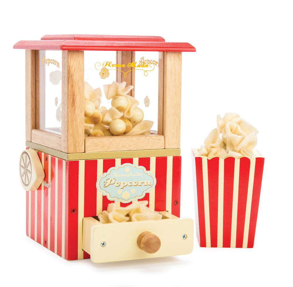 Wooden Popcorn Machine