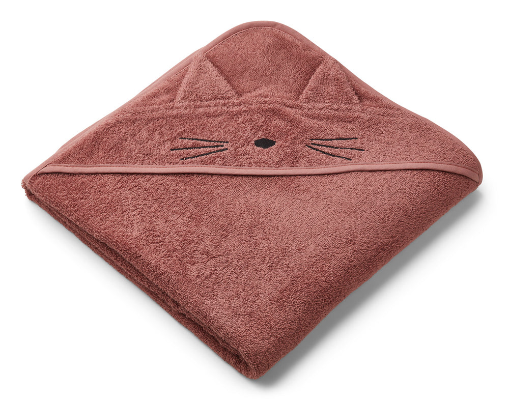 Augusta Hooded Towel - Cat