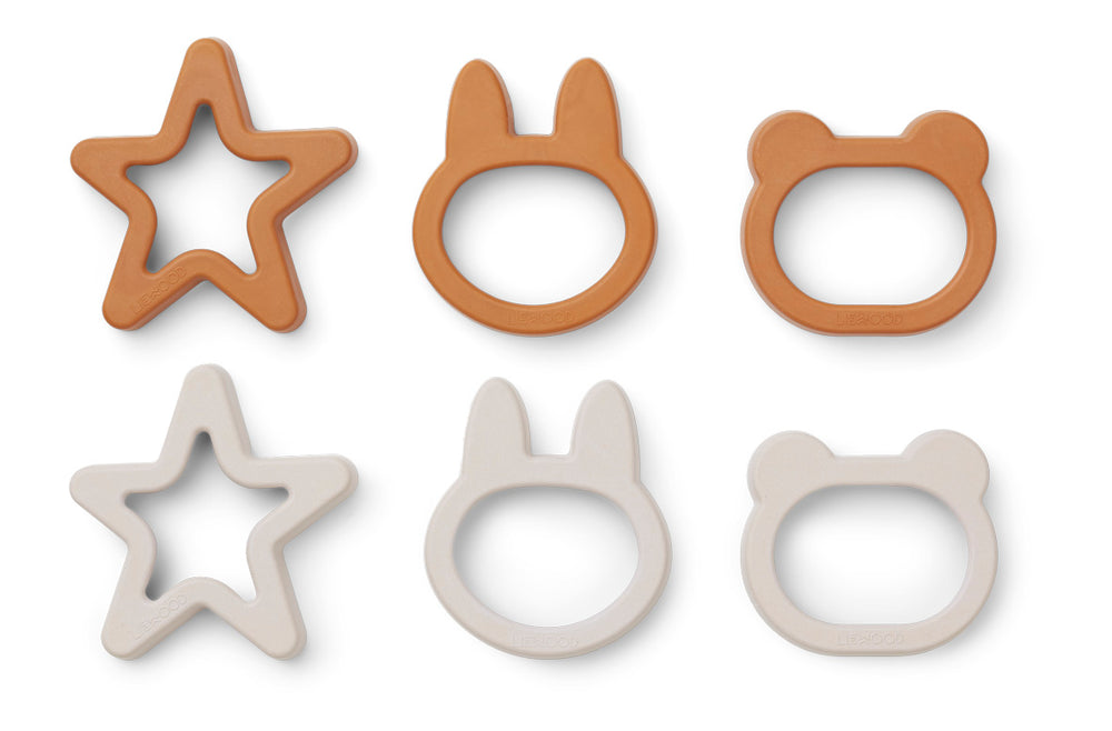 Andy Cookie Cutter (pack of 6) - Mustard Mix