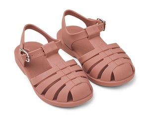 Bre Sandals in Dark Rose