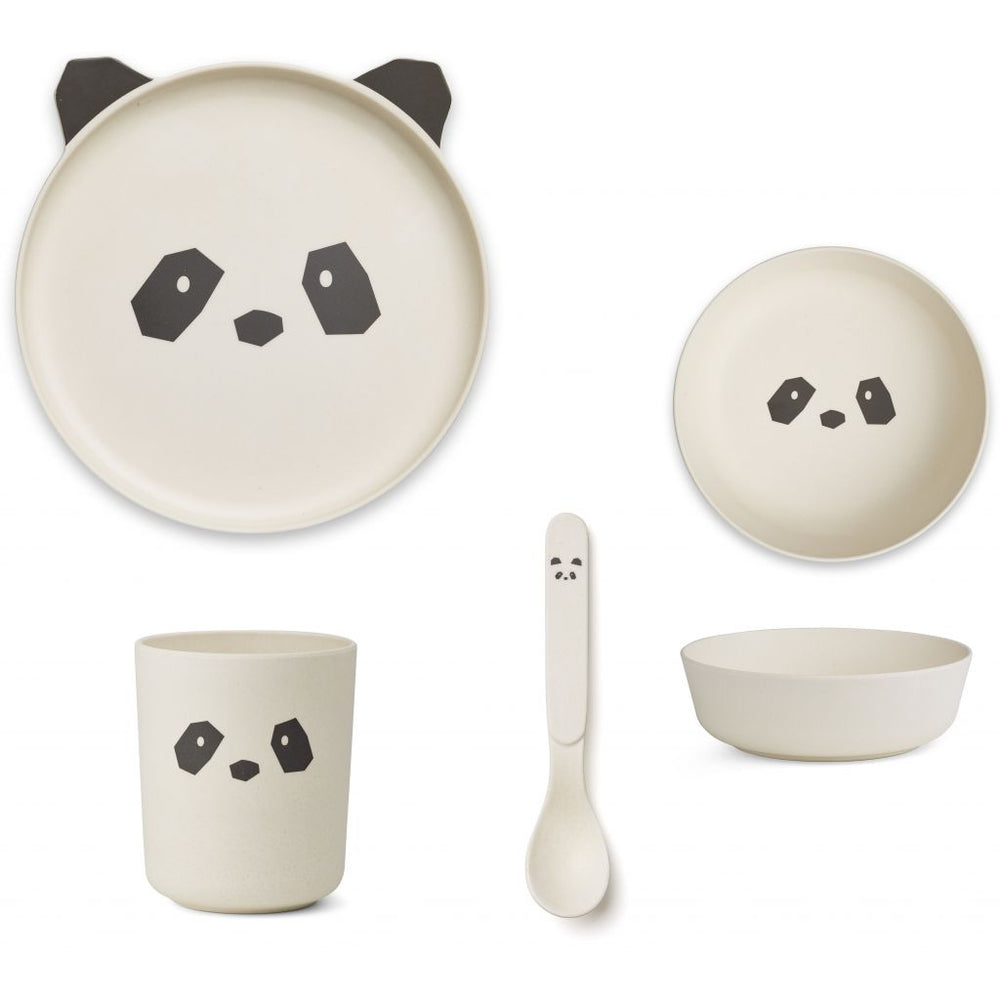 Bamboo Tableware Box Set - Panda