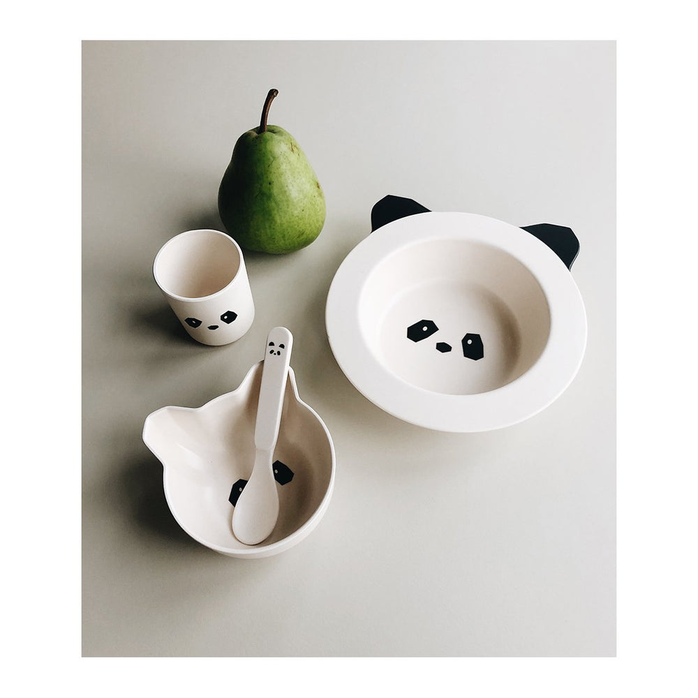 Barbara Bamboo Tableware Baby Set - Panda