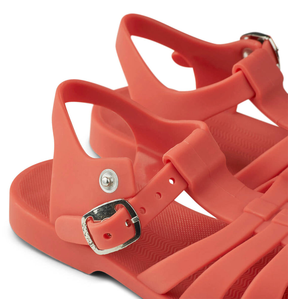 Bre Sandals in Apple Red