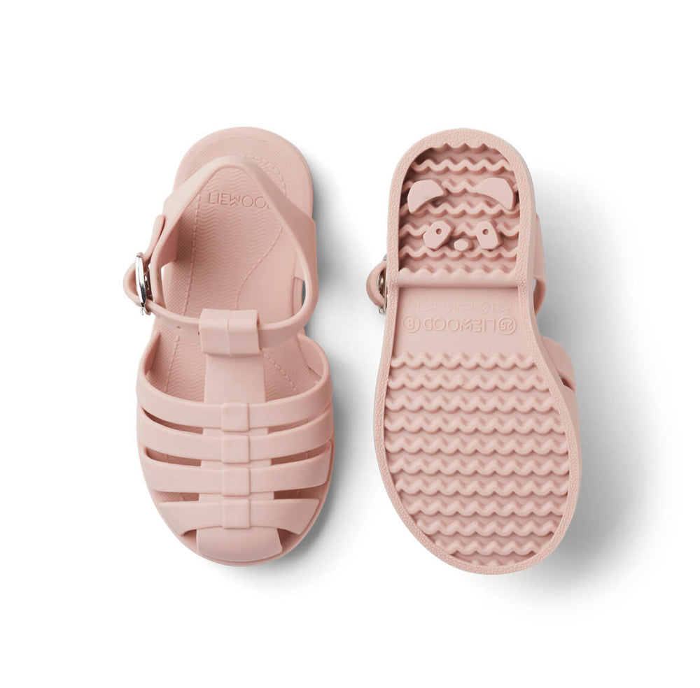 Bre Sandals in Rose