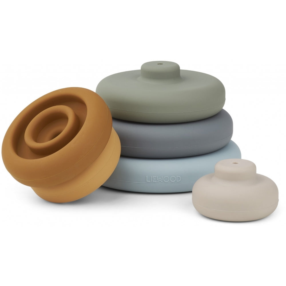 Dag Silicone Stacking Rings Tower
