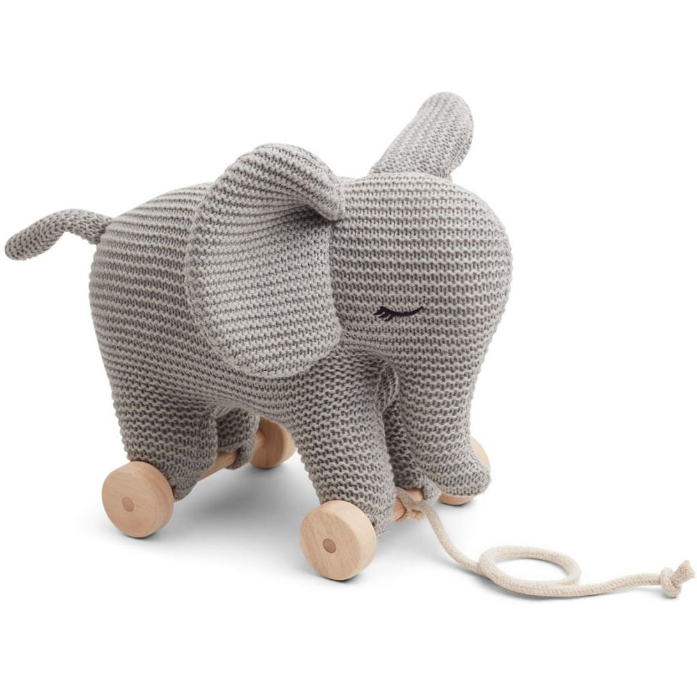 Dahlia Teddy on Wheels - Elephant Grey Melange