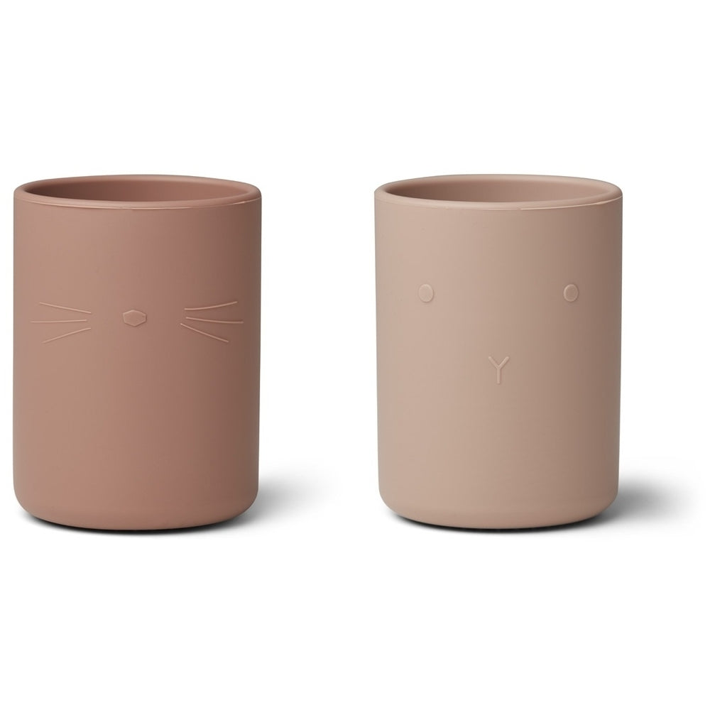 Ethan Silicone Cup (2 pack) - Rose Mix