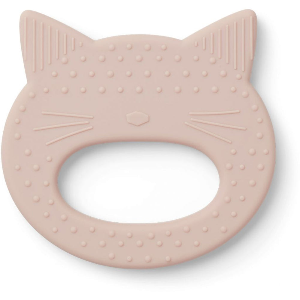 Gemma Silicone Teether - Cat Rose