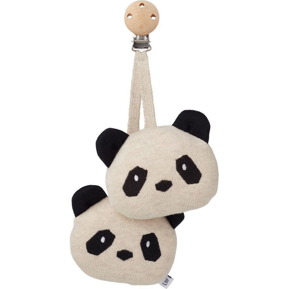 Rosa Pram Toy - Panda Beige Beauty