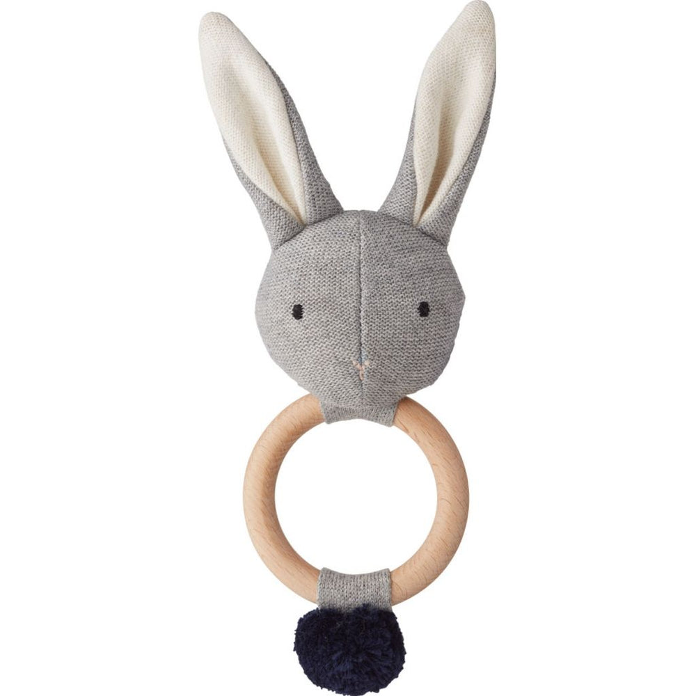 Aria Rattle - Rabbit Grey Melange