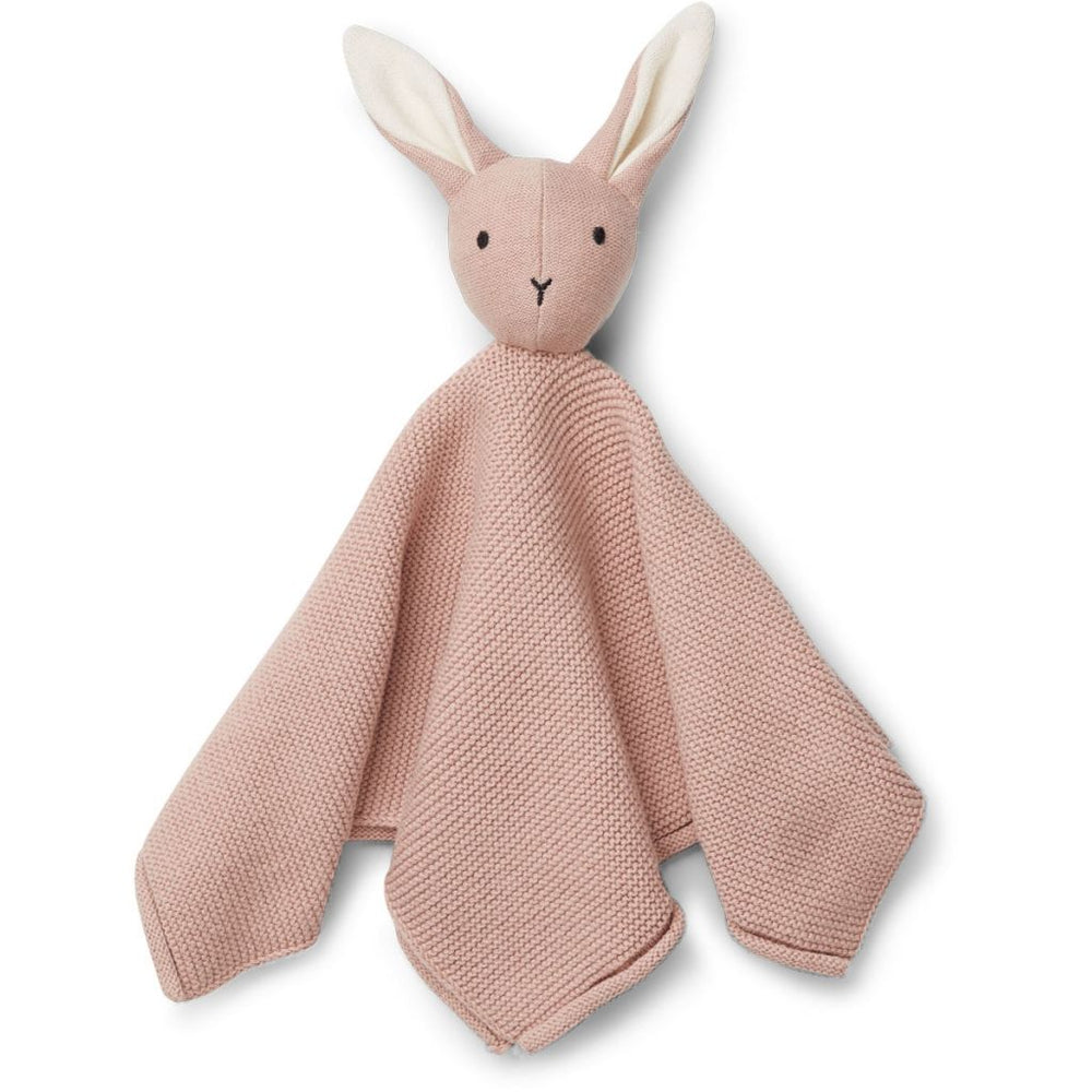 Milo Knit Cuddle Cloth - Rabbit Rose