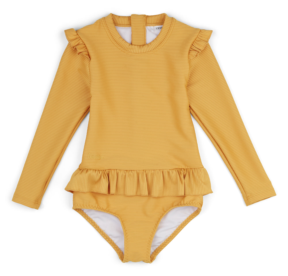 Sille Swim Jumpsuit - Mellow Yellow