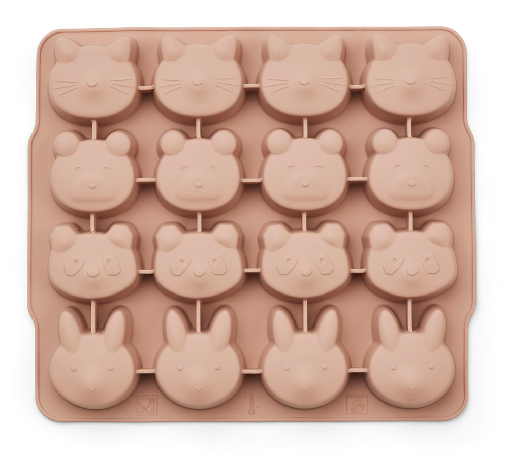 Sonny Silicone Ice Cube Tray (pack of 2) - Rose Mix
