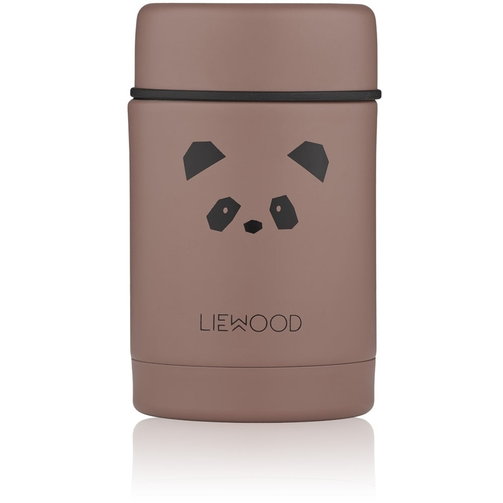 Nadja Food Jar - Panda in Dark Rose