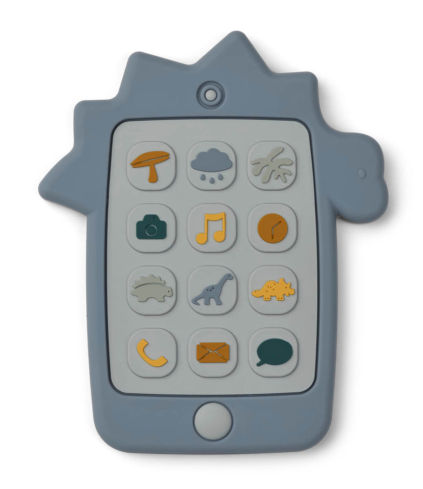Thomas Mobile Phone Teething Toy - Dino Blue