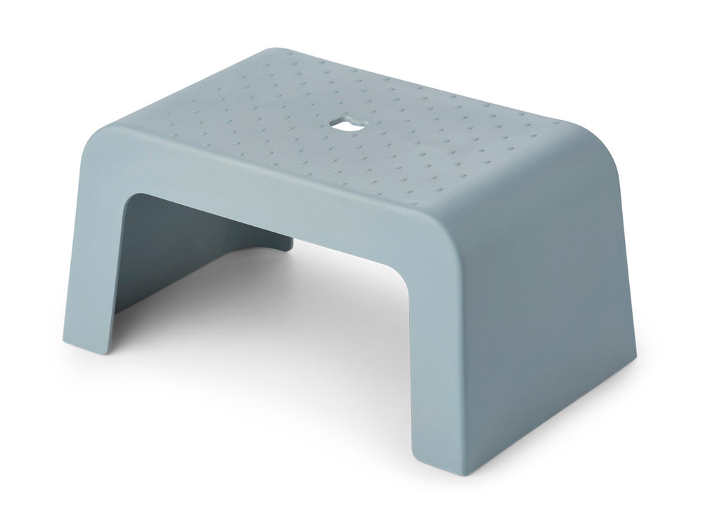Ulla Step Stool in Sea Blue
