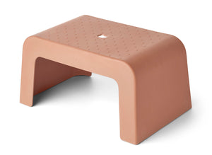 Ulla Step Stool in Terracotta