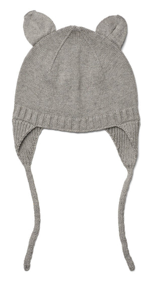 Violet Bonnet in Grey Melange