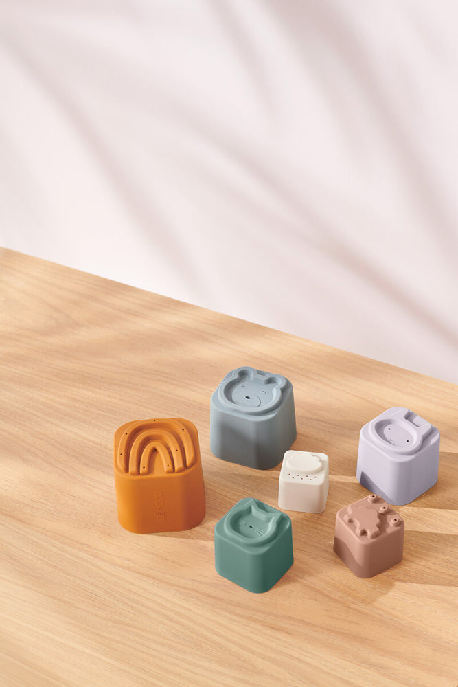 Zuzu Silicone Stacking Cups (2 colours available)