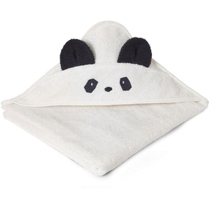 Augusta Hooded Towel - Panda