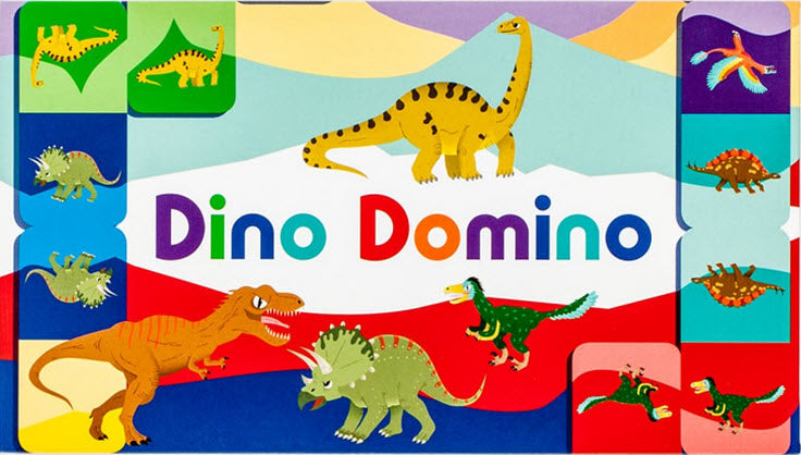 Dino Domino Board Game