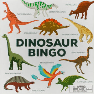 Dinosaur Bingo Board Game