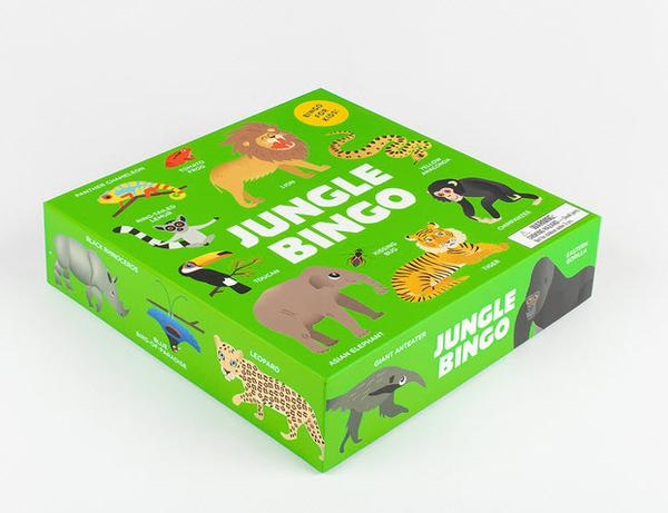 Jungle Bingo Board Game