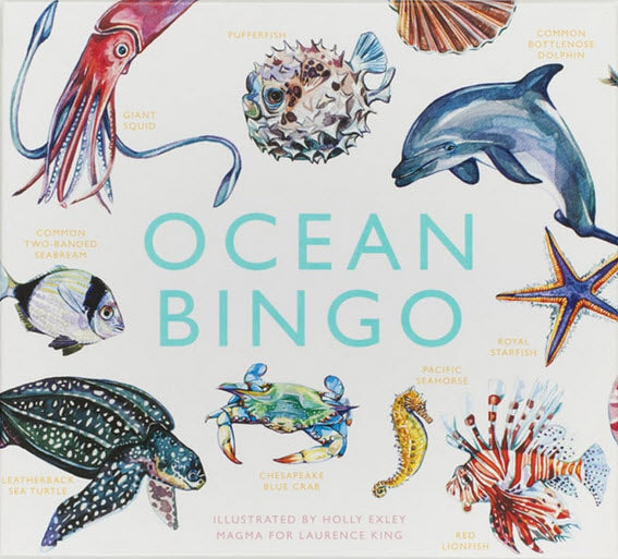 Ocean Bingo Board Game