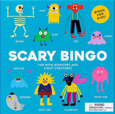Scary Bingo Board Game