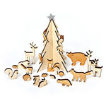 Woodland Wooden Advent Calendar